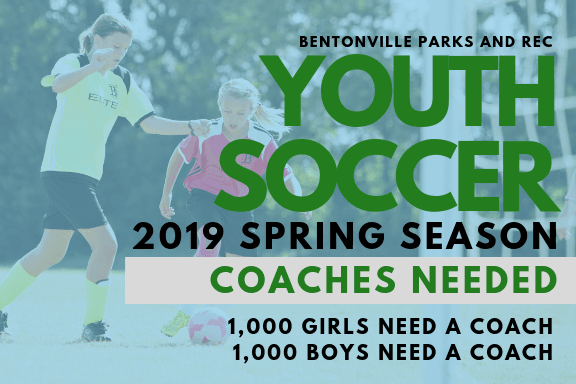 SPR 18 Youth Soccer Coaches Needed