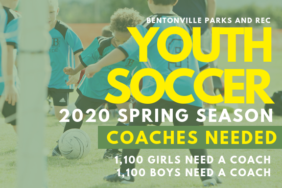 SPR 20 Youth Soccer Coaches Needed