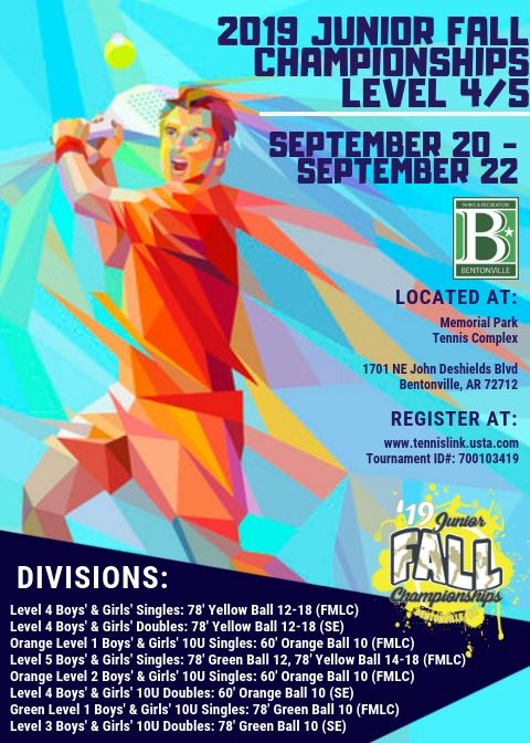 Jr Fall Championships Flyer