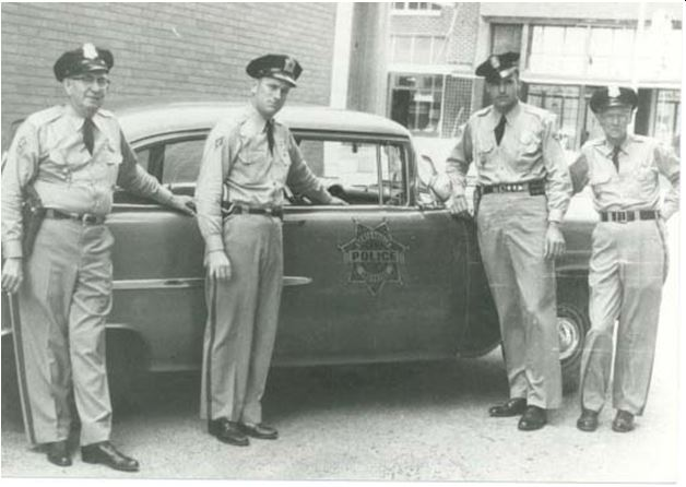Archived BPD Vehicle and Officers