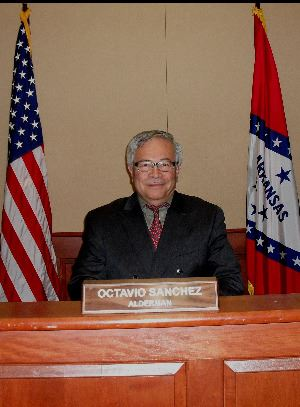 Get in contact with Council Member Octavio Sanchez.