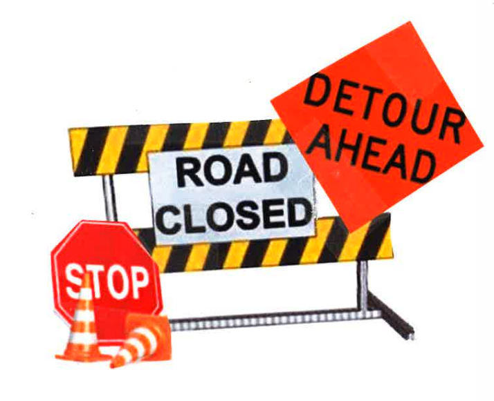 Road Closed Icon